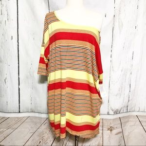 LuLaRoe   Multicolored Striped Irma NWT